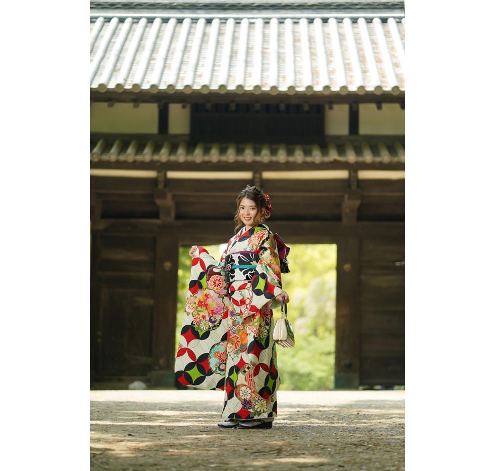 福岡の出張撮影サービス「RYO PHOTO(リョウフォト)」の出張カメラマン山口が福岡で出張撮影した成人式前撮りの写真