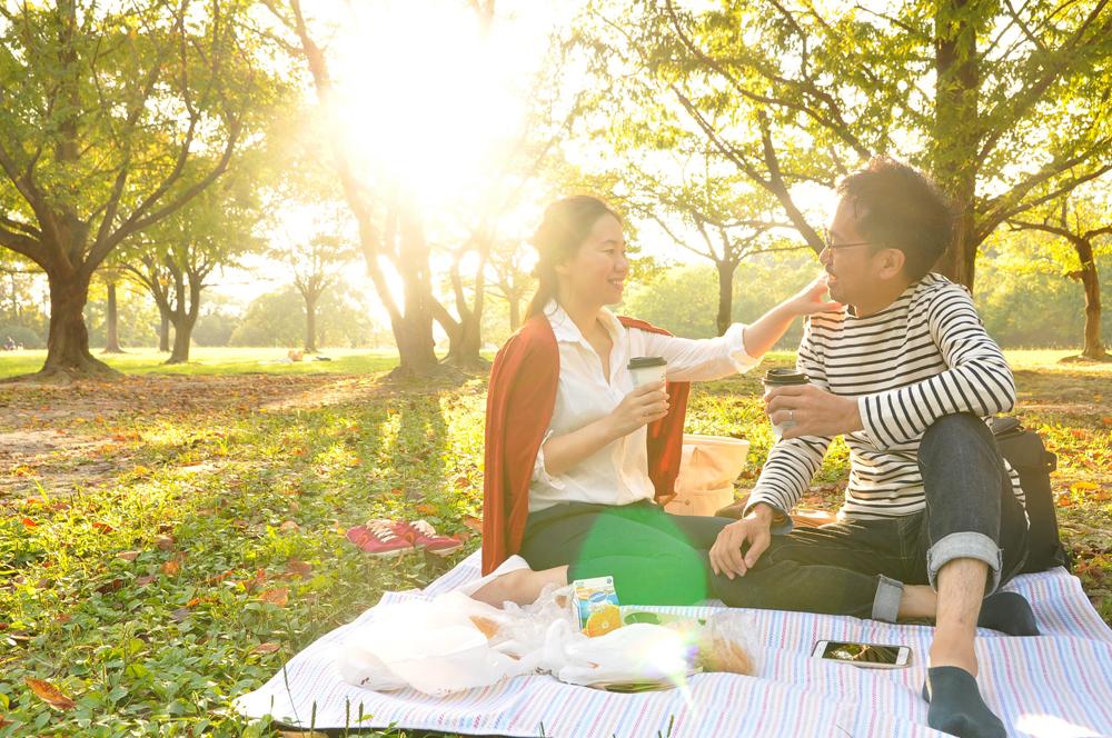 福岡の出張撮影サービス「RYO PHOTO(リョウフォト)」の出張カメラマン山口が福岡で出張撮影したカップルフォトの写真