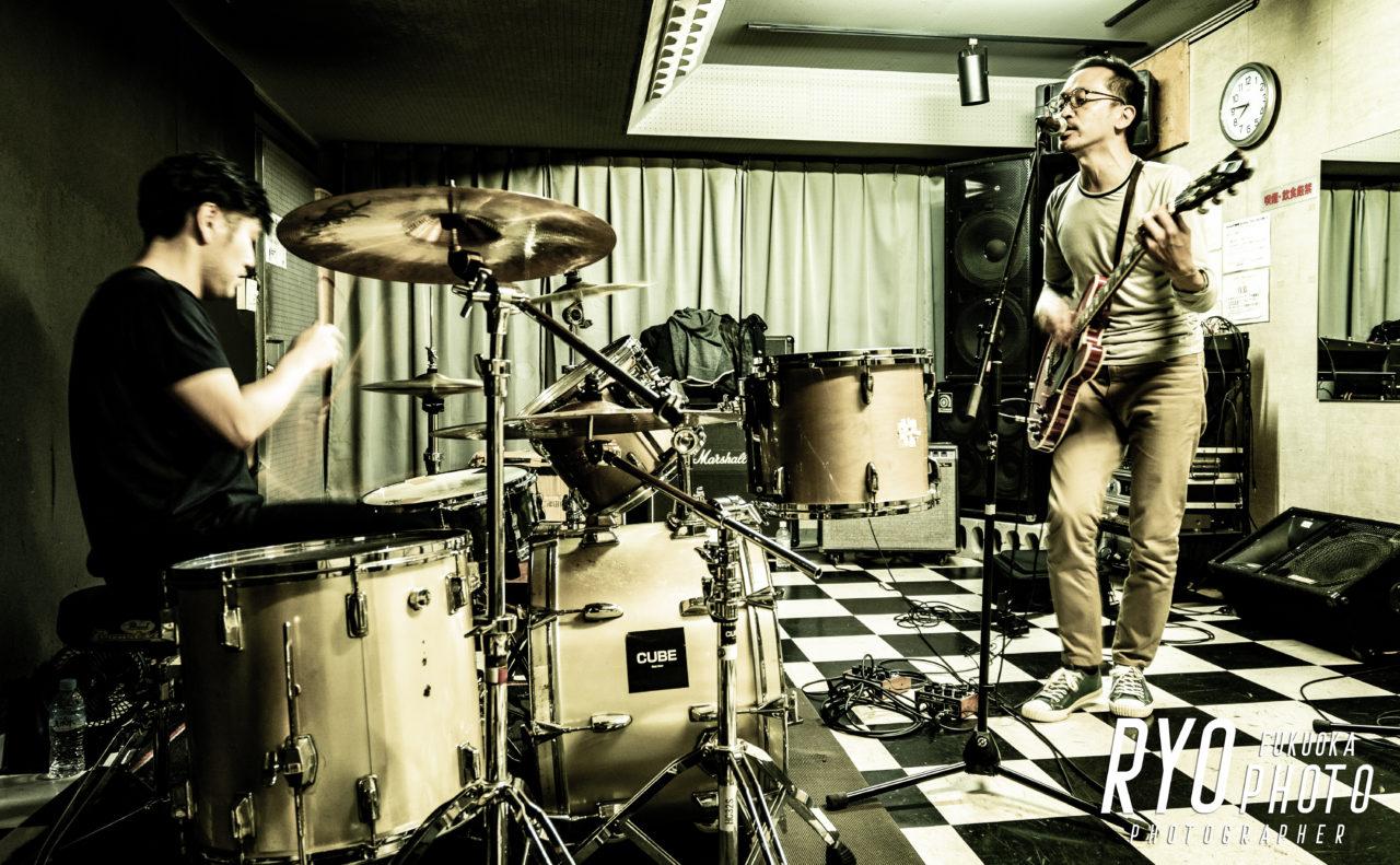 バンドの練習風景の写真