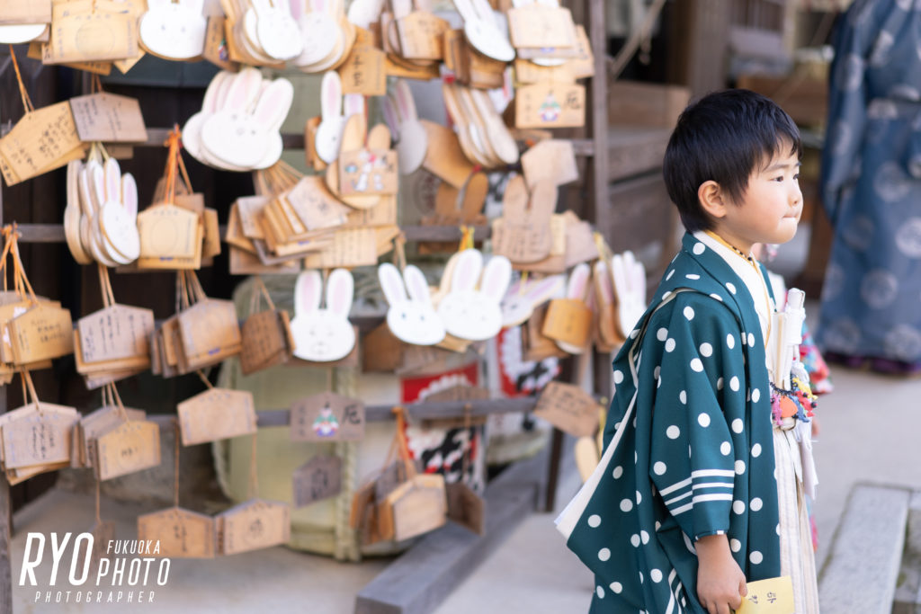 福岡の出張撮影サービス「RYO PHOTO(リョウフォト)」の出張カメラマン山口が福岡で出張撮影した七五三の写真