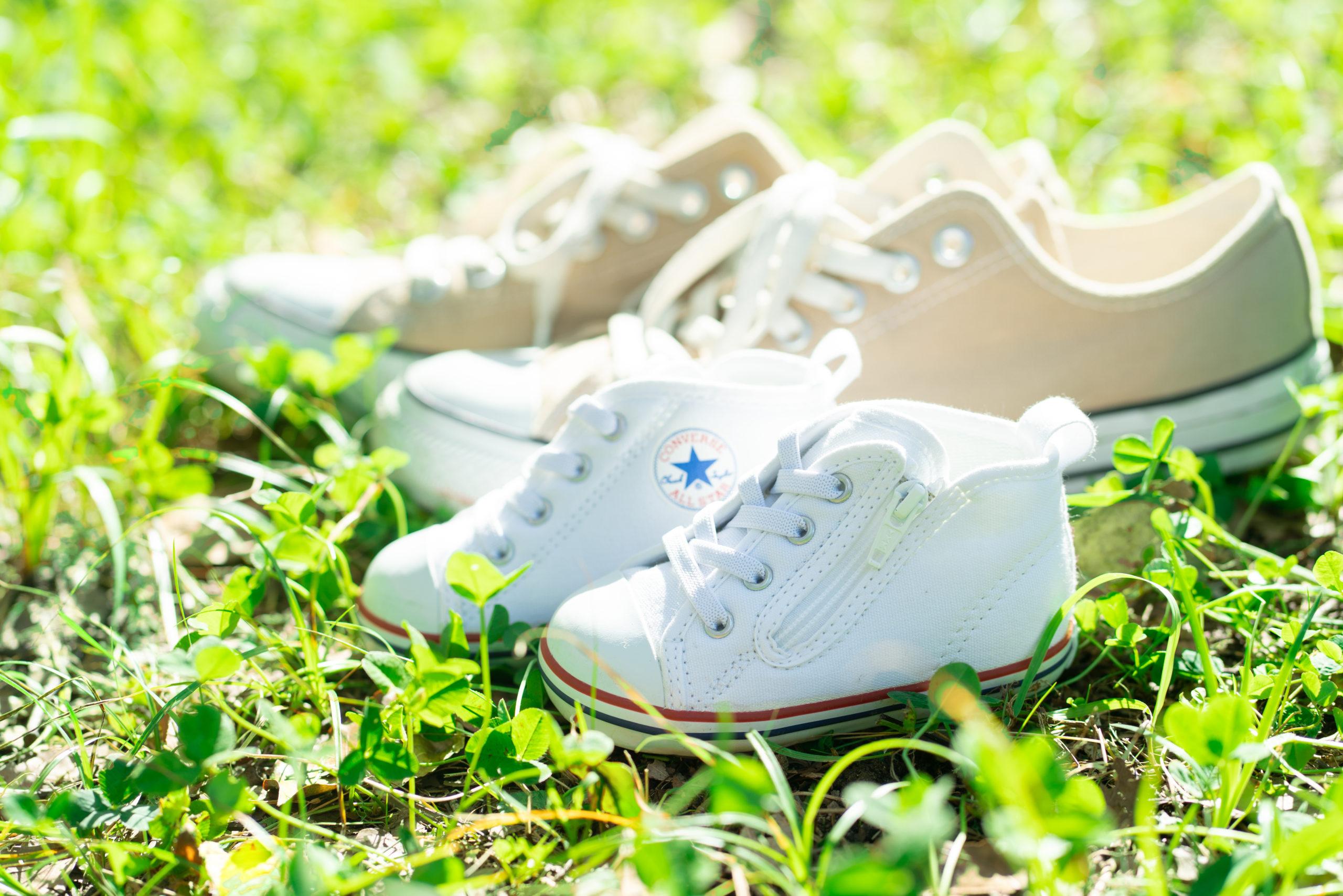 子供の靴の写真